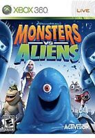 Monsters vs. Aliens Xbox 360 Kids Game 1 Rare Collectible