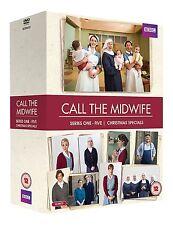 Call The Midwife . Series 1-5 . Season 1 2 3 4 5 . Ruf Des Lebens . 16 DVD . NEU