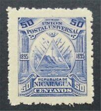 nystamps Nicaragua Stamp # 76 Mint OG H      S24x830