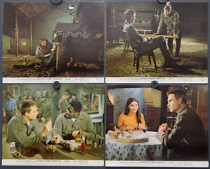SERGEANT 1968 ORIGINAL 8X10 NR MINT LOBBY CARD SET ROD STEIGER JOHN PHILLIP LAW
