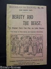 Books for the Bairns 93 - Beauty and the Beast - A Fairy Tale Play