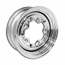 "Early Smoothie Chrome VW 5 Lug Wheel, 5/205, 5.5"" Width"