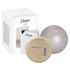 Dove DermaSpa Goodness3 Bauble Gift Set inc DermaSpa Body Cream Travel Size 75ml