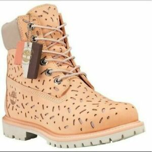 "Timberland Women's 6 inch"" Ice Cream Double Sole Premium Waterproof Boots NIB"