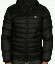 New Lacoste Men's Lightweight Down Jacket BH1332-51 HNZ Black Authentic XL 54