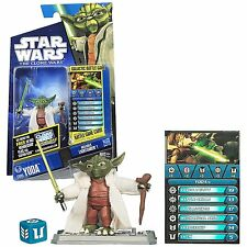 Star Wars The Clone Wars Cw05 Yoda ,Action Figure New