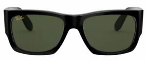 Ray-Ban Damen Herren Sonnenbrille RB2187 901/31 54mm Wayfarer Nomad schwarz RB9