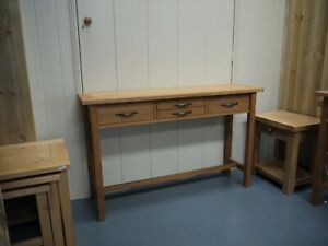 Laura Ashley Milton SOLID OAK CONSOLE HALL  NO ASSEMBLY IN STOCK
