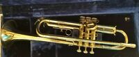 Vintage York Trumpet with accessories and cleaning tools