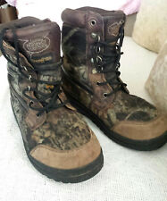 Northwest Territory Thinsulate Men's Hiking/Work Boots Size 6.5  Brown Camo