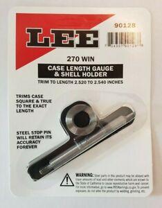 Lee 90128 Case Length Gauge and Shellholder 270 Win