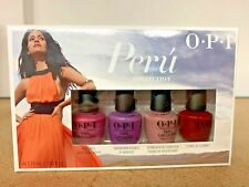 Opi Peru Collection Mini Pack (Set of 4) - New In Box - Same Day Shipping!