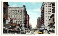 Early 1900s Hennepin Avenue, North from Sixth Street, Minneapolis, MN Postcard