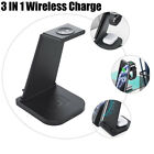 For Apple Watch Phone/Airpod Pro 3in1 QI Wireless Charger Charging Station Dock