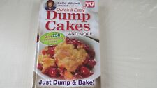 Cathy Mitchell Presents Quick & Easy Dump Cakes and More~ Brand New Hardcover