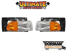 Headlight Pair Left and Right for 99-09 Sterling Truck