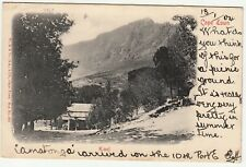 CGH: EDVII Postcard, Kloof: Cape Town to North Shields, 13 Jan 1904