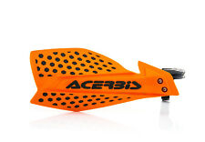 New Acerbis X-ULTIMATE Handguards Motocross Guards Orange Black KTM SX SXF EXC