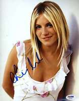 SIENNA MILLER SIGNED PSA/DNA CERTIFIED 8X10 PHOTO AUTHENTICATED AUTOGRAPH