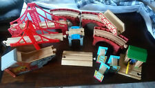 Thomas / Melissa and Doug / Other Train Wooden Railway Track and Bridge Lot