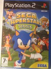 SEGA SUPERSTARS TENNIS PLAYSTATION 2 NEUF BLISTER SONIC TENNIS PS2 NEUF MINT