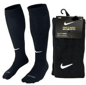 NEW Nike Classic Cushioned Knee High Socks BLACK Women's 4-6 Youth 3Y-5Y