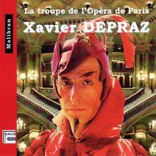 Xavier DEPRAZ / La Troupe de l'Opera de Paris / (1 CD) / Neuf