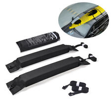 2Pcs Universal Car Roof Rack Pads for Kayaks Surfboard Canoe Luggage Carrier Bar