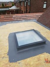 Manual Opening Flat Roof Window Skylight Roof-light Triple Glazed 800mm x 1200mm