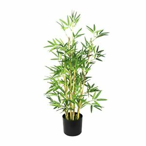 90Cm Tall Potted Artificial Bamboo Tree Home Decor Fake Plant Indoor Flowers