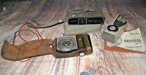 Vintage Photography Items - Minolta 16 Model P - Hyper Flash - Light Meter