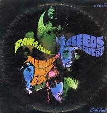 """SEEDS """"RAW & ALIVE"""" ORIG US 1968 GARAGE MONSTER VG+/EX+"""