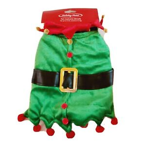 Christmas Dog Costume Santas Elf or a Little Court Jester Size Small