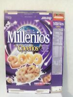 General Mills Millenios from Cheerios Cereal  Box Never Glued Sample Box