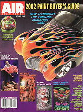Air Brush Action Magazine 2002 Paint Buyer's Guide