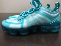 Nike Air VaporMax 2019 Teal Tint Tropical Twist Women's Size 6 Shoes CI9903-300