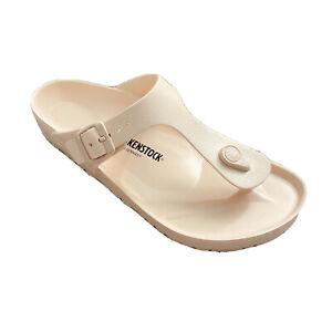 Birkenstock Gizeh EVA Light Pink Waterproof Thong Sandal 41 10 NWT