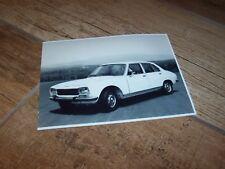 Photo de presse / Press Photograph  PEUGEOT 504 GL 1976 //