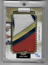 16-17 2016-17 UD PREMIER JAROMIR JAGR CHEST LOGOS SICK PATCH /22 PANTHERS MJW