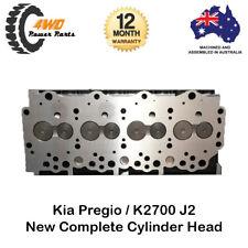 Kia Pregio K2700 J2 Complete Cylinder Head with Valves & Springs 4 Cyl 8V Diesel