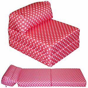 Gilda Fold Out Futon Single Guest Z Bed Chair Folding Mattress Sofa Bed Foam