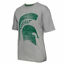 Colosseum Michigan State Spartans Charcoal Splitter 1//4 Pullover Synthetic Windshirt