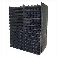 Crafters companion spectrum noir plume d'encre noir meuble de rangement 14 plateaux pour 168 stylo