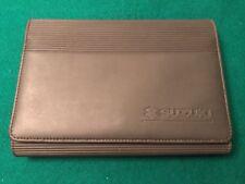 Suzuki Grand Vitara -Swift -SX4 -Original Handbook Owners Manual Wallet