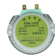 Motor de microondas Motor síncrono bandeja motores SSM-16HR AC 21 v 3 W 50/60Hz