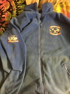 ULSTER 2006 GRAND PRIX ORIGINAL SPONSORS CREW JACKET FROM COLLECTION MOTORBIKES