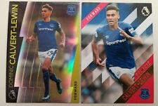 Calvert-Lewin Topps Premier Gold & Platinum True Rookie RC Everton England