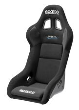 SPARCO EVO XL QRT COMPETITION RACING SEAT FIA CERTIFIED APPROVED BLACK