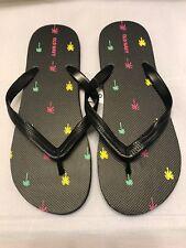 Old Navy Men Shoes Flip Flops Sandals Black