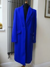 DEPT wool purple long blue pink coat size 12 NEW with tag